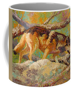 Prowler - Grey Wolf Coffee Mug