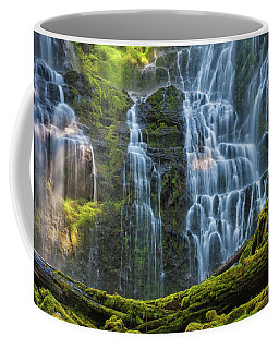 Proxy Falls Dappled In Light Coffee Mug