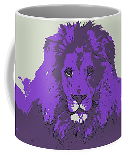 Pruple King Coffee Mug