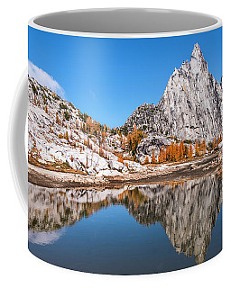 Prusik Peak Reflected In Gnome Tarn Coffee Mug