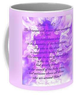 Psalm Eighty Nine Selected Verses Coffee Mug