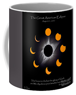 Psalm Nineteen Solar Eclipse Coffee Mug