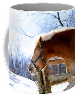 Coffee Mug featuring the photograph Pssssssh.....it's Not Cold by Angela Rath