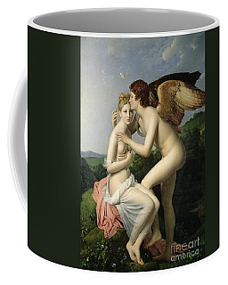 Psyche Receiving The First Kiss Of Cupid Coffee Mug