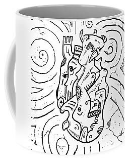 Psychedelic Animals Coffee Mug