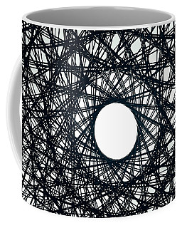 Psychedelic Concentric Circle Coffee Mug