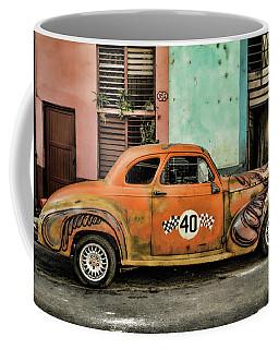 Psychedelic Cuba Coffee Mug