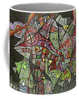 Psychedelic Sea Creature Coffee Mug