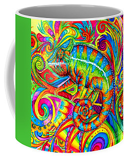 Psychedelizard Coffee Mug