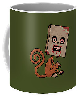 Psycho Sack Monkey Coffee Mug