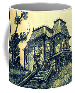 Psycho Coffee Mug by Salman Ravish