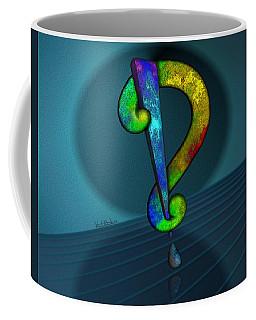 Psychedelic Interrobang Coffee Mug