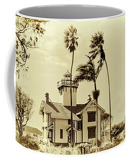 Pt. Fermin Lighthouse Coffee Mug by Joseph Hollingsworth