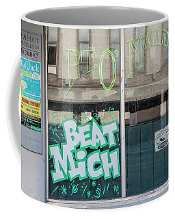 Pt O'maleys Beat Mich Coffee Mug