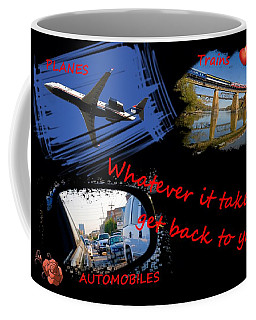 Pta Whatever It Takes Red Text Coffee Mug