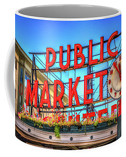 Public Market At Noon Coffee Mug by Spencer McDonald