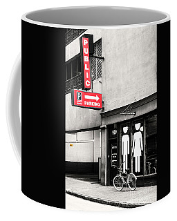 Public Parking Coffee Mug