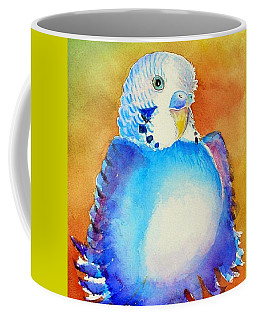 Pudgy Budgie Coffee Mug