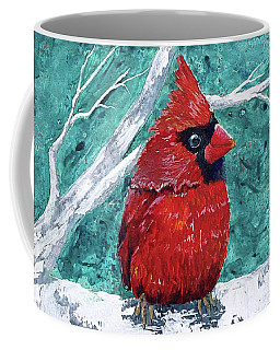 Pudgy Cardinal Coffee Mug