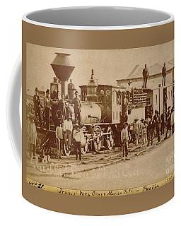 Puebla And Veracruz Railroad Puebla Mexico 1885 Coffee Mug