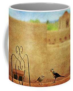 Coffee Mug featuring the photograph Pueblo Village Settlers by Diana Angstadt