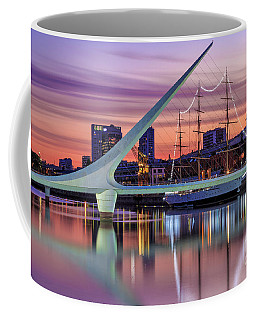 Coffee Mug featuring the photograph Puerto Madero At Twilight by Bernardo Galmarini