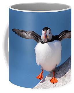 Puffin Dance Coffee Mug