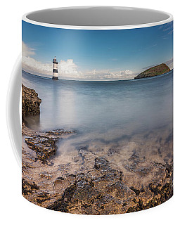 Puffin Island Lighthouse  Coffee Mug