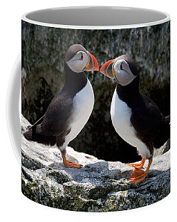 Puffin Love Coffee Mug by Brent L Ander