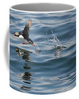 Puffin Runner Coffee Mug