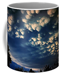 Puffy Storm Clouds Coffee Mug