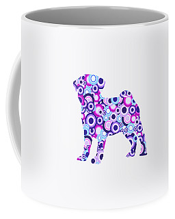 Pug - Animal Art Coffee Mug