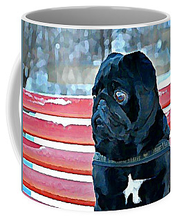 Pug In Deutschland Coffee Mug