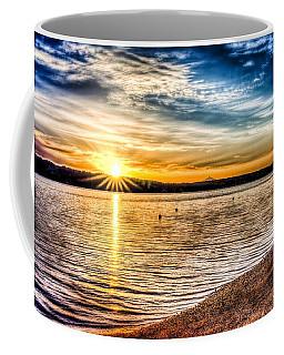 Puget Sound Sunrise Coffee Mug