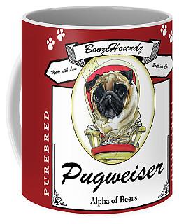 Pugweiser Beer Coffee Mug