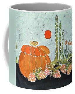 Pumpkin And Asparagus Coffee Mug