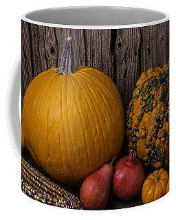 Pumpkin Autumn Still Life Coffee Mug