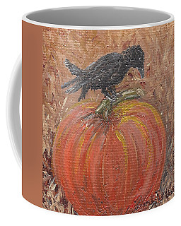 Pumpkin Crow Coffee Mug