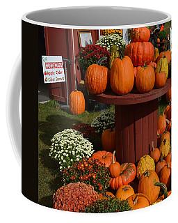 Pumpkin Display Coffee Mug