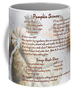Pumpkin Scones Recipe Coffee Mug
