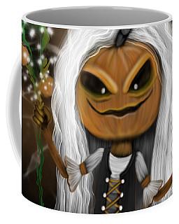 Pumpkin Spice Latte Monster Fantasy Art Coffee Mug