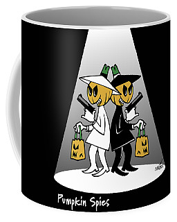 Pumpkin Spies Coffee Mug