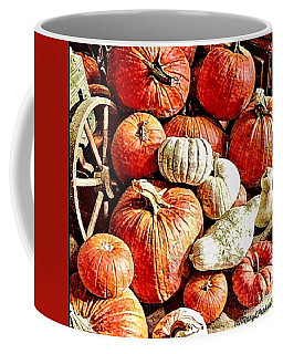 Pumpkins In The Barn Coffee Mug