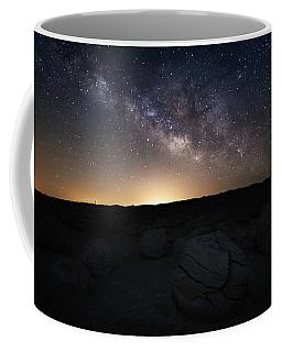 Pumpkins Under The Stars Coffee Mug