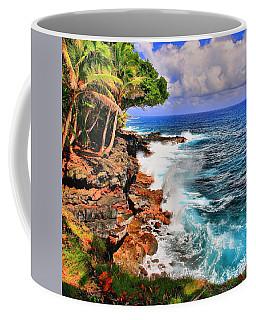 Coffee Mug featuring the photograph Puna Coast Hawaii by DJ Florek