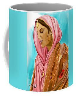 Punjabi Beauty Punjaban Coffee Mug