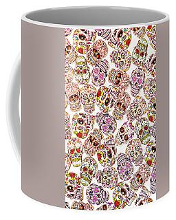 Punk Rock Pattern Coffee Mug