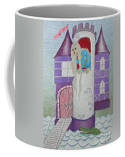 'punzel -- Portrait Of Storybook Character Rapunzel Coffee Mug
