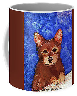 Puppy Bear_dwp May 2017 Coffee Mug