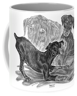 Puppy Love - Doberman Pinscher Pup Coffee Mug